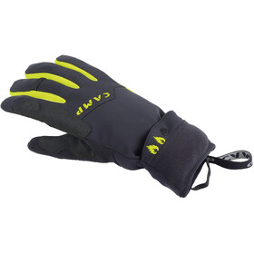 Camp G Comp Warm Gloves Black/Lime